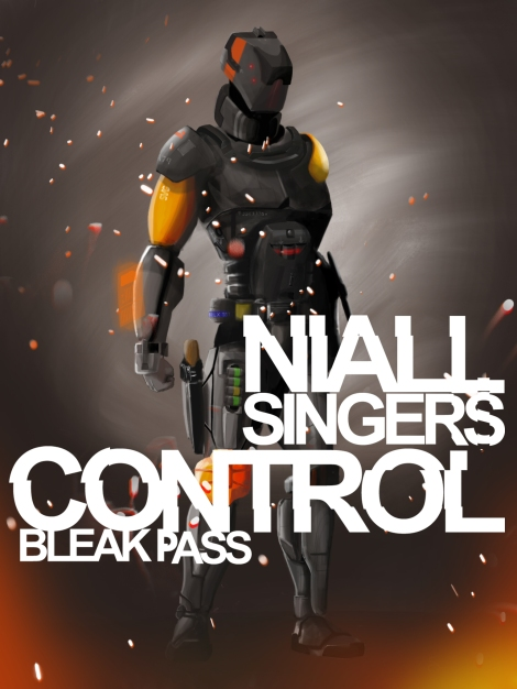 Control: Bleak Pass Book Cover Option 2